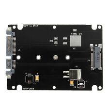 """M.2 NGFF SSD disque dur à 2.5"""" Carte Adaptateur SATA Boîtier PCI-E Convertisseur"""