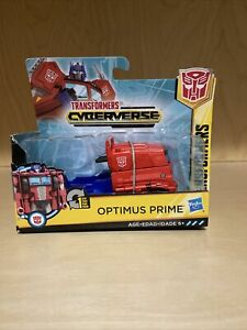 Hasbro Transformers Cyberverse 1-Step Changer OPTIMUS PRIME New