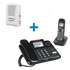 Clarity E814CC Amplified Corded/Cordless Combo with SR-100 Answering Machine