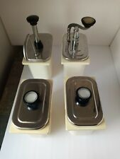 Used Ice Cream Topping Dispenser With 2 Pumps Amp 2 Ladle Good Condition