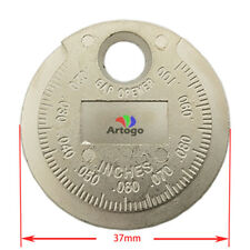 Gap Tool Gauge Ruler Measure Wider opener measurement feeler Spark Plug quick