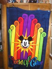 World of Color Disney Fleece Throw 40 by 60 NWT