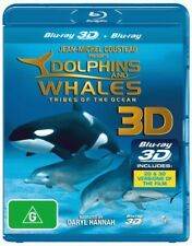 DOLPHINS AND WHALES (3DTV/2D) New Movie Blu-Ray Region B