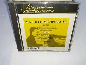 HAYDN ORCHETRA TORINO ROSSI MOZART CONCERTO PIANOFORTE - MICHELANGELI - BRAMANTE
