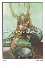 Drunk Loki Print - 2014 Signed by Esad Ribic