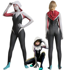 Gwen Stacy Spider-Man Into the Spider-Verse Bodysuit Cosplay Costume