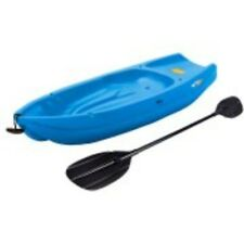 Lifetime 6', 1-Man Wave Youth Kayak with Bonus Paddle Blue