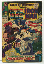 Tales Of Suspense #92 VG/FN  Iron Man And Captain America Marvel Comics  SA