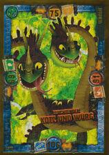 LE10 - Leuchtender Kotz und Würg - Limitierte Karte - Dragons 3-Die geheime Welt