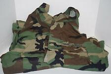 Lot of 2 US Army Woodland Camouflage Jackets Medium Regular 1 w/ Patches VGUC