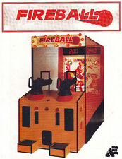 Alter Enterprises Fireball Boardwalk Style Arcade Game Orig Sales Flyer Brochure