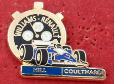 PIN'S F1 FORMULA ONE CHRONO WILLIAMS RENAULT 95 HILL COULTARD ZAMAC