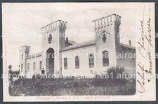 PIACENZA CITTÀ 69 CAMPO di TIRO A SEGNO NAZIONALE Cartolina viaggiata 1905
