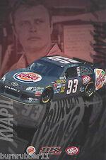 "2014 MORGAN SHEPHERD /""SUPPORT MILITARY/"" #93 NASCAR SPRINT CUP SERIES POSTCARD"
