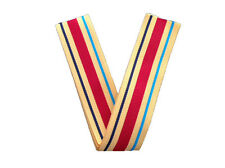 Africa Star Medal Ribbon - 1 x Meter ** CLEARANCE **