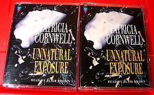 Patricia Cornwell Unnatural Exposure Kay Scarpetta 4-Tape Audio Book Blair Brown