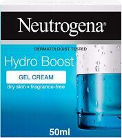 Neutrogena Hydro Boost Gel Cream Moisturiser with Hyaluronic Acid & Trehalose -