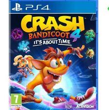 Crash Bandicoot 4 Its About Time PS4 SECUNDARIA100% ANTICANDADO LEER DESCRIPCIÓN