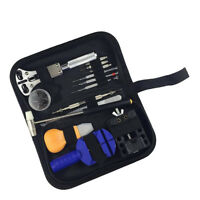 13 Pieces Watch Repair Tool Kit Set Pin Strap Remover Replacement Opener