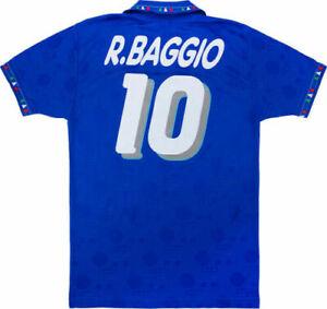 Italy 1994 Jersey Roberto Baggio #10 World Cup