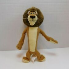 Dreamworks 10″ Madagascar Escape 2 Africa ALEX LION Plush Stuffed Animal NANCO