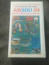 Confederate Air Force Airsho 84 VHS Video