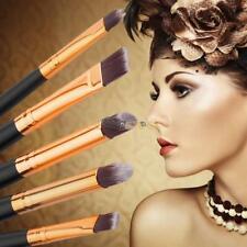 Pinceaux Cosmétiques Eyeliner Fard À Paupières Ombre À Paupières Maquillage 6 pc