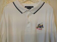 Devon & Jones men Polo shirt Seabees 4XL Plus Size Golf Pima cotton Casual White