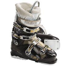 Tecnica Viva Mega+ 8 Ultrafit Gold/Black Ski Boots Size 23.5