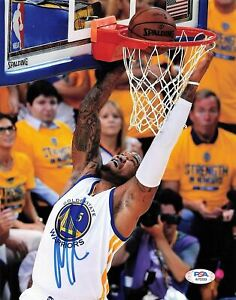 Marreese Speights signed 8x10 photo PSA/DNA Golden State Warriors Autographed