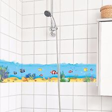 Wandtattoo XXL Fische Hai Nemo Wasser Meer bunt Wandsticker Aufkleber blau Tiere