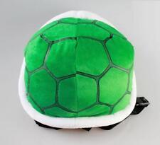 Super Mario Bros Koopa Turtle Troopa Shell Soft Plush Backpack School Bag gift A