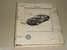 Schulungsunterlage Lehrgang Elektrik 1997 Cadillac Catera (wie Opel Omega B)