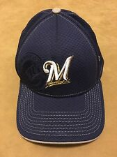 Milwaukee Brewers Baseball Hat Fitted New Era Size Small Medium