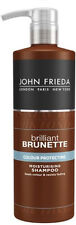 John Frieda Brilliant Brunette Colour Protecting Moisturising Shampoo (500ml)