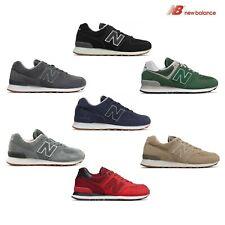 new balance NB 574 scarpe ginnastica uomo sneakers rossa verde gialla ML574