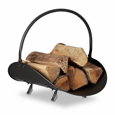 Relaxdays Firewood Basket - 10022297