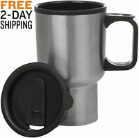 Chucky Stainless Steel Travel Mug with Lid 14