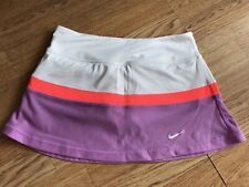 Girls Nike Dri-fit Tennis Skirt Skort, Age 8-10 Years S