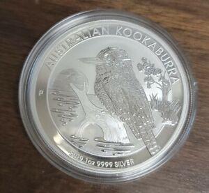 2019 P  Australia $1 Silver Coin - Australian Kookaburra