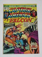 Captain America #175 Marvel Value Stamp Intact 1974 Marvel Comics FN/VF