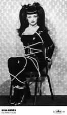 Nina Hagen-Awesome promo press photo 1993-BDSM Révolution Ballroom SM