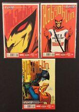 AXIS HOBGOBLIN #1 - 3 Comic Books FULL SET Spider-Man Marvel 2014 VF No Codes