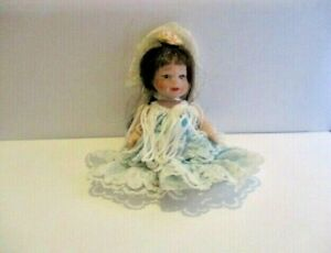 Vintage Spanish Style China Doll with movable limbs