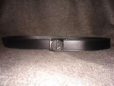 Versace Collection MEDUSA Adjustable Leather Belt. One Size.
