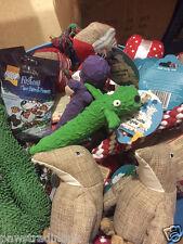 10 x AFFARE Natale Xmas Bundle GIOCATTOLI / Treats PET Puppy Dog DOGGY Chew Toy