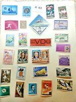 Mint worldwide stamps.  Lot # G 63 San Marino, Haiti, Russia, Algeria, Ecuador