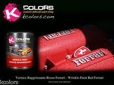 Vernice Raggrinzante motore alta temperatura ROSSO FERRARI 250gr liquida
