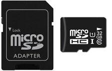 32GB Tarjeta Memoria MicroSDHC 32 GB Clase 10 (UHS-1) + Adapter SD/MicroSD
