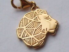 New Thomas Sabo 18ct gold plated solid silver Lion charm RRP £69